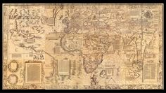 "1507 world map, the first to call the New World ""America."" The cartographer began his career, Van Duzer said, by basing his maps on those of the Alexandrine geographer Claudius Ptolemy from the second century A.D. These maps were based on geographic descriptions in books, rather than direct maritime knowledge. But in making the Carta marina, printed just nine years later, Waldseemüller abandoned his older sources in favor of contemporary nautical charts, maps of maritime regions and…"