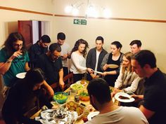 April got off to an absolute flyer when we hosted our Annual Zero Seder at the Habo House. 26 Madrichim of all ages came over for an evening of matzah, haggadah and orange.Local MP Ivan Lewis even popped in to join in the pesachtivities!