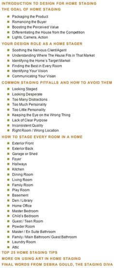 home staging contract template bing images home staging to sell your home faster pinterest. Black Bedroom Furniture Sets. Home Design Ideas