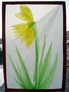 Frische Brise: Frühlingsfensterbilder - Anleitung