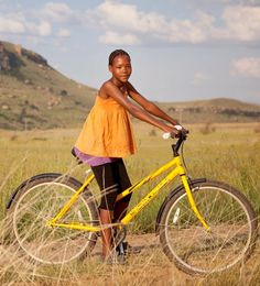 Bicycle Portraits from South Africa: Morongwenyane Mokhele