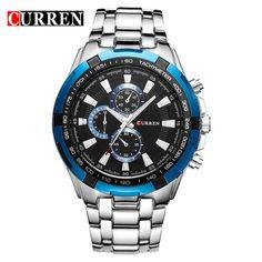 Curren Luxury Stainless Steel Wristwatch