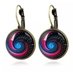 2017 Vintage Cabochon Earrings The Milky Way & Starry Sky Handmade National Style French Hook Earrings For Girls /Ladies From Janet2011, $1.31 | Dhgate.Com