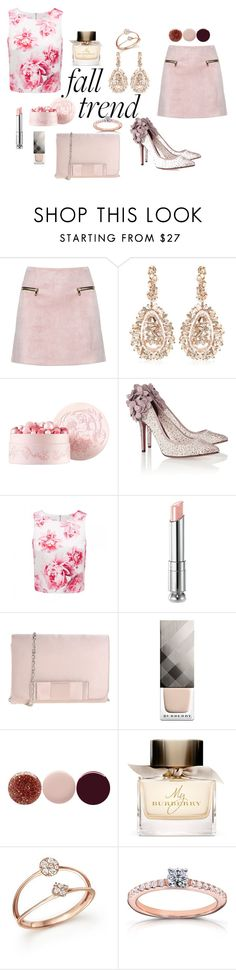 A fashion look from November 2015 featuring rose shirt, pink skirt and high heel pumps. Browse and shop related looks. Burberry Nails, Bruno Magli, Suzanne Kalan, Nails Inc, Forever New, Christian Dior, Polyvore, Stuff To Buy, Shopping