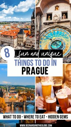8 fun and unique things to do in Prague. All you need to know if you're going to Prague! Things to do in Prague | Prague travel guide | Prague for first timers | Prague photography | Prague itinerary | Prague attractions Prague Travel Guide, Europe Travel Guide, Travelling Europe, Italy Travel, Travel Guides, European Travel Tips, European Vacation, Top Travel Destinations, Best Places To Travel