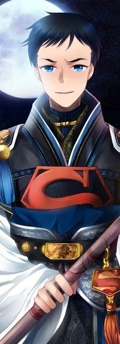 Oriental Style Conner aka Superboy