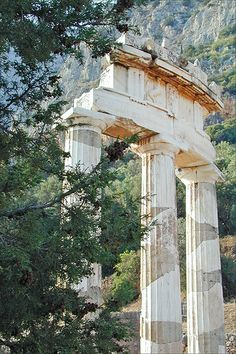 La Tholos à Delphes (Grèce)