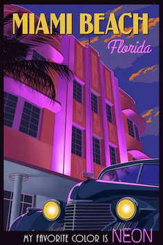 Emory Motorsports: Providing The Best Vintage Porsche on The Market Super Awesome Retro Print Vintage Poster-Grafiken: 251 Full HD-Bilder! Miami Art Deco, Miami Beach, Miami Florida, Hawaii Beach, Oahu Hawaii, Vintage Travel Posters, Vintage Postcards, Vintage Advertisements, Vintage Ads