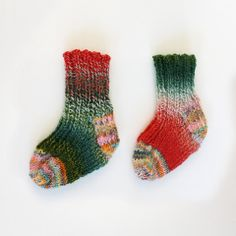 One of a Kind Hand Knit Sockies!
