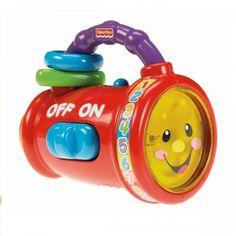 Fisher Price Eğitici El Fenerim 29.90TL yerine 24.90TL #fisherprice #egiticielfeneri Tamamen Bebeklerin Kavraması İçin Dizayn Edilmiş,Üzerindeki Boncuklar, Çıngıraklar ve Basılacak Tuşlar İle Birlikte Aktive Olan Şarkılar Oyunlarla Onun Gelişimini Tamamlamasına Yardımcı Olacak http://minimintan.com/egitici-oyuncaklar/fisher-price-egitici-el-fenerim.html