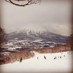 Hora Fuji, Niseko Japonsko