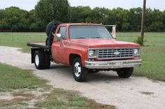 70's Chevy c30 one ton dually flat bed