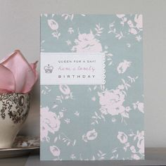 'Queen For A Day' Birthday Card by Studio Seed