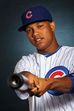 Starlin Castro Photos - Starlin Castro of the Chicago Cubs poses during spring training photo day on February 2012 in Mesa, Arizona. Cubs Pictures, Ford Sport, Batting Average, Cubs Win, Go Cubs Go, Sports Fanatics, Cubs Baseball, Mlb Players, Baseball Photos