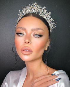 Gorgeous Makeup, Pretty Makeup, Love Makeup, Makeup Inspo, Makeup Inspiration, Romantic Makeup, Glam Makeup, Skin Makeup, Beauty Makeup