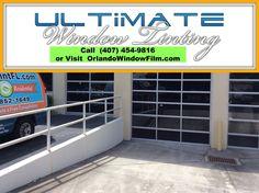Graffiti protection window film - Orlando, Florida