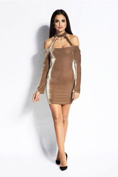 Dursi Callie Dress -Shop So Smexy Luxury Collection of Women Wear Models, Special Occasion Dresses, Fashion Addict, Fashion Photo, Outfit Of The Day, Evening Dresses, Cold Shoulder Dress, Women Wear, Bodycon Dress