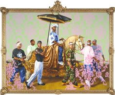 Kehinde Wiley On the World Stage: A Conversation With the Artist