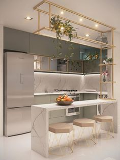 Kitchen Room Design, Home Room Design, Kitchen Cabinet Design, Modern Kitchen Design, Home Decor Kitchen, Interior Design Kitchen, Home Kitchens, Kitchen Ideas, Kitchen Furniture