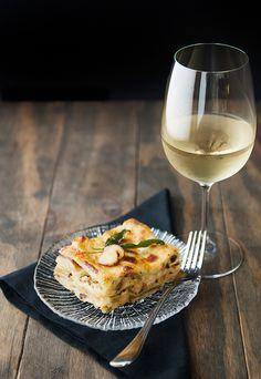 porcini mushroom lasagne