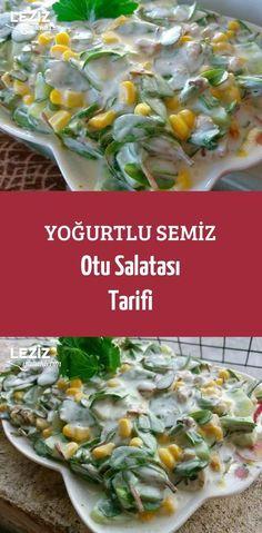 Yoğurtlu Semiz Otu Salatası Tarifi