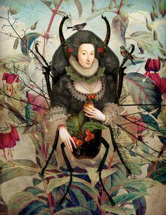 """""""Spiderwoman"""" by Catrin Welz-Stein"""