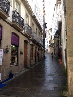 Rúa Algalia de Arriba. Santiago de Compostela, Spain