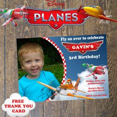 Disneys Planes Party Invitation Birthday by DesignsbyCarrieLee, $10.00
