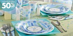 Blue And Green Baby Shower Decorations | Best Baby Decoration