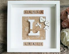 Personalised New Baby Frame New Baby Gift Christening