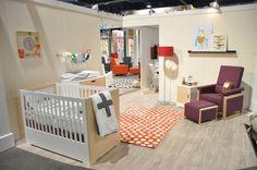 Dutailier Biscotti Nursery with Urban Glider