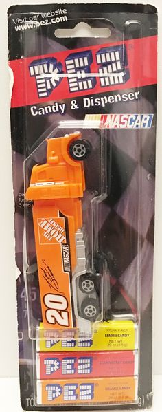 (TAS032952) - 2005 HGL PEZ Candy & Dispenser - Tony Stewart Home Depot #20