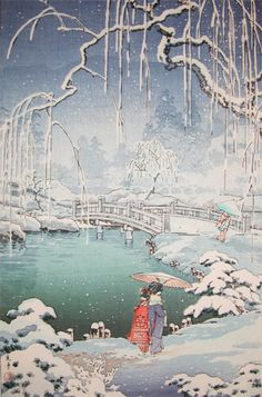 Koitsu-Spring Snow at Maruyama park