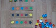 Kapak İle Renk, Rakam Ve Görsel Hafıza Çalışması