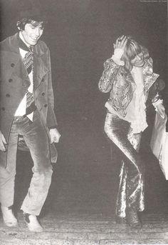 Keith Richards & Anita Pallenberg • @HVLAUREN