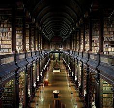 Trinity Library in Dublin, Ireland