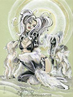 Chinese Crested Muse by SaraRichard.deviantart.com on @deviantART