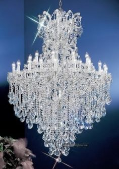 Theresa Chandeliers_Zhongshan Sunwe Lighting Co. We specialize in making Swarovski crystal chandeliers, Swarovski crystal lighting Luxury Chandelier, Chandelier In Living Room, Candle Chandelier, Antique Chandelier, Chandelier Lighting, Crystal Chandeliers, Crystal Lights, Chandelier Ideas, Luxury Lighting