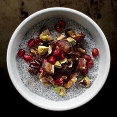 Chia Seed Pudding with Medjool Dates Recipe