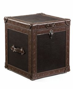 Southern Enterprises Pyramid Trunk End Table   $149.99 @hayneedle | Ideas  For The House | Pinterest | Southern, Room And Modern