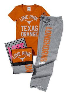 While I do not own this yet (hint,hint) I absolutely love victorias secret, and I love the longhorns so its perfect (;