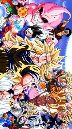 Dragon Ball Z, Dragon Ball Image, Dope Cartoon Art, Manga Anime, Z Arts, Cute Disney Wallpaper, Bike Art, Anime Love, Creations