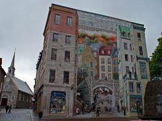 Verdadero o ilusión?. Trampantojo en Québec