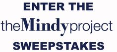 Fox Channel is organizing the Mindy project sweepstakes and is giving away the chance to win prizes online every day!