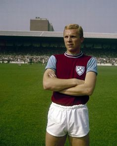 Bobby Moore training at West Ham in August, 1962