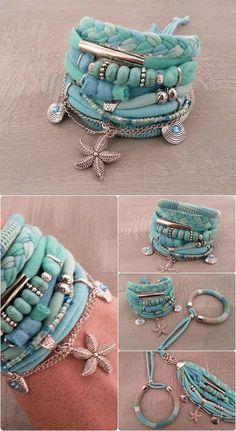 Best Seller Turquoise Boho Bracelet Gypsy Bracelet Seafoam