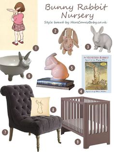 Here Comes Baby – Bunny Rabbit Nursery Inspiration « Spearmint Baby