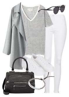 """""""Untitled #18903"""" by florencia95 ❤ liked on Polyvore featuring Topshop, Nili Lotan, Givenchy, Christian Dior and Michael Kors"""