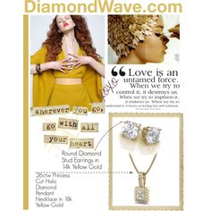 DiamondWave.com by isatusia on Polyvore featuring moda and Aime