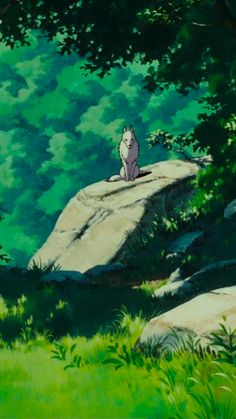 Studio Ghibli Art, Studio Ghibli Movies, Studio Ghibli Background, Art Background, Princes Mononoke, Princess Mononoke Wallpaper, Japanese Drawings, Howls Moving Castle, Soul Art